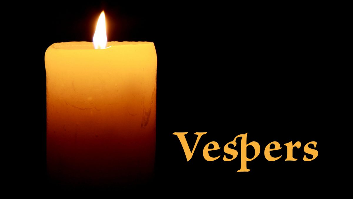 Vespers – Wednesday, March 20